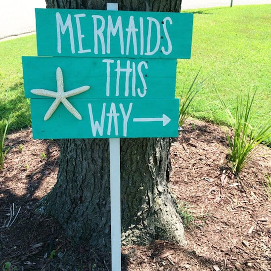 mermaid bachelorette party ideas