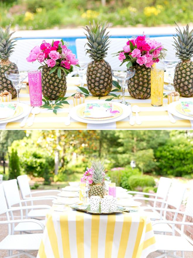 Tropical Bridal Shower Inspiration | The Yes Girls
