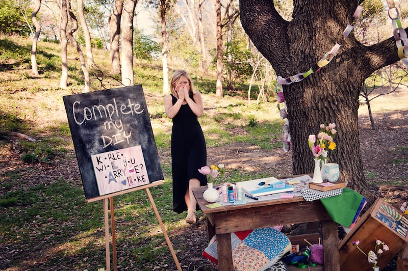 dallas styled shoot wedding proposal planners