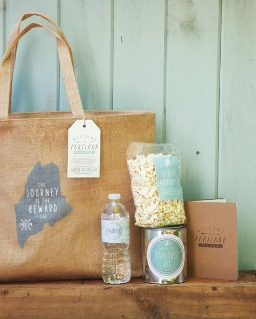 Creative Welcome Bags