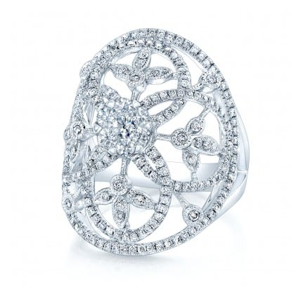 Coronet Engagement Ring