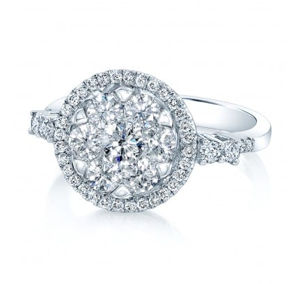 Coronet Engagement Ring