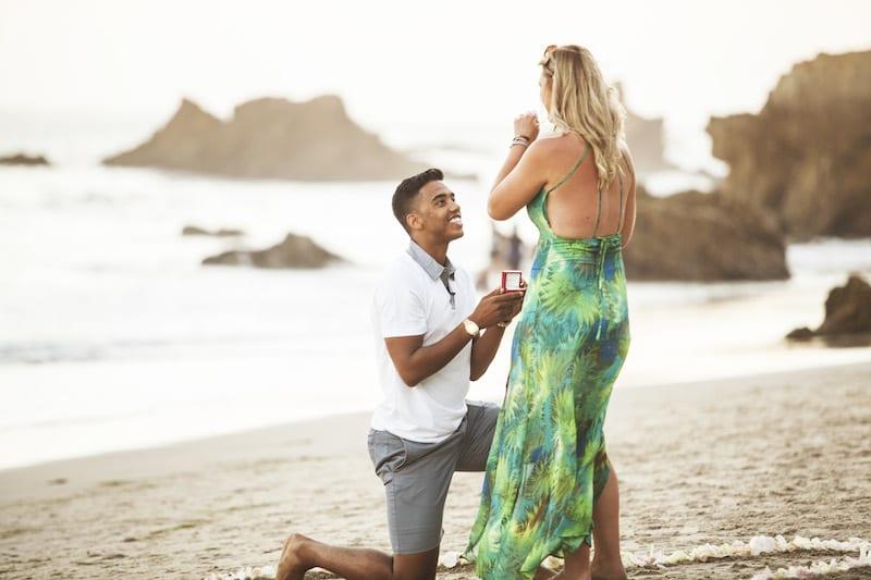 malibu beach wedding proposal by the yes girls