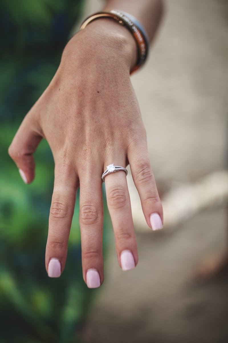 beach marriage proposal in malibu