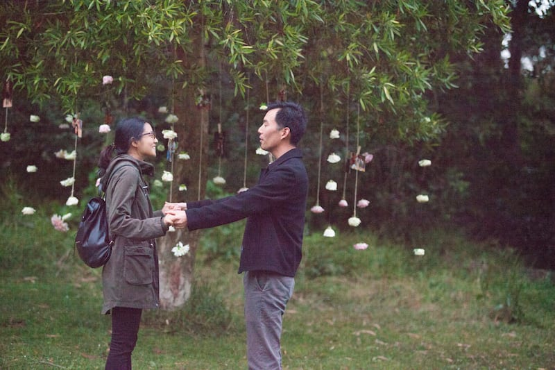 San Francisco GG Park Marriage Proposal