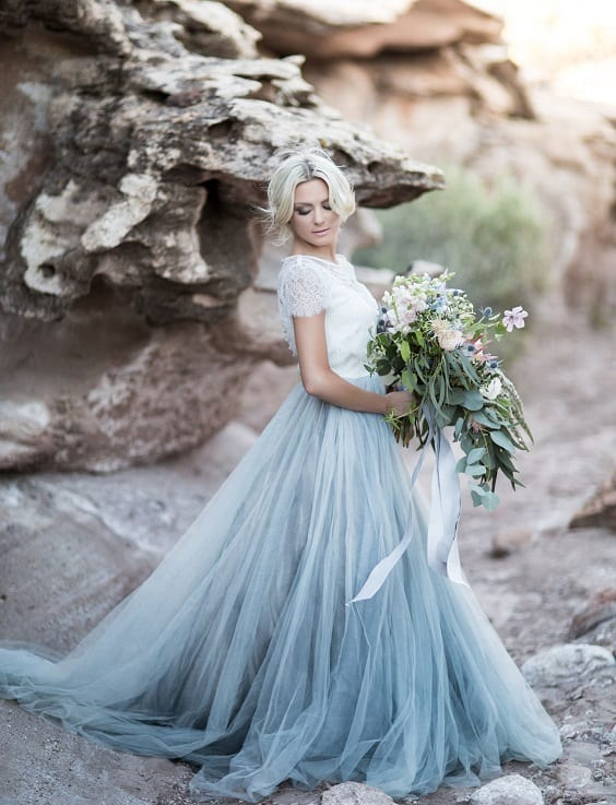 trend spotlight: pastel wedding dresses | the yes girls