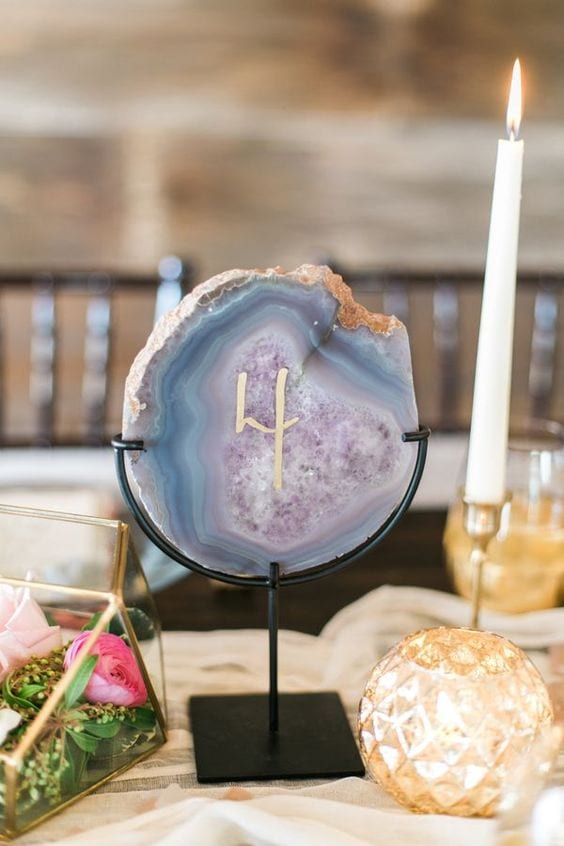 agate and geode details