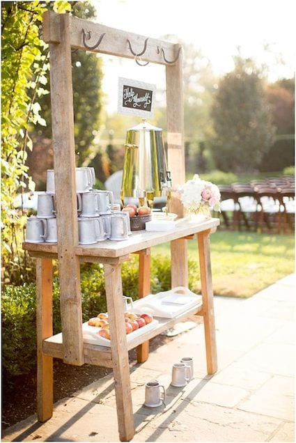 autumn wedding bar