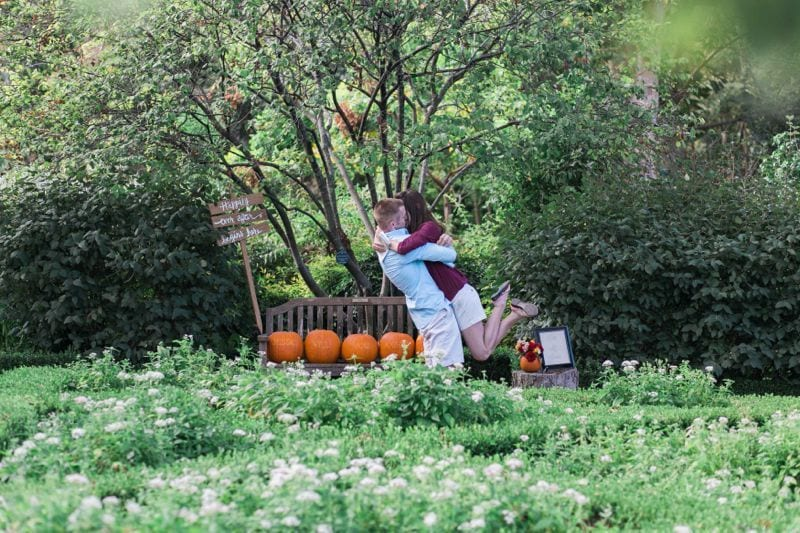 """""""will you marry me"""" pumpkins"""