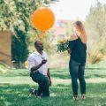 oversized orange balloon