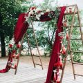 Use Ladders in Event Decor and Wedding Decorations