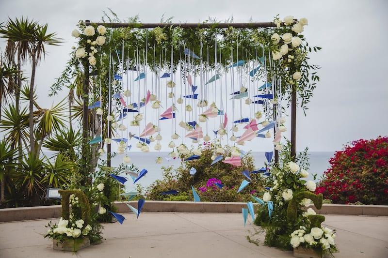 Paper Airplane Wedding Proposal