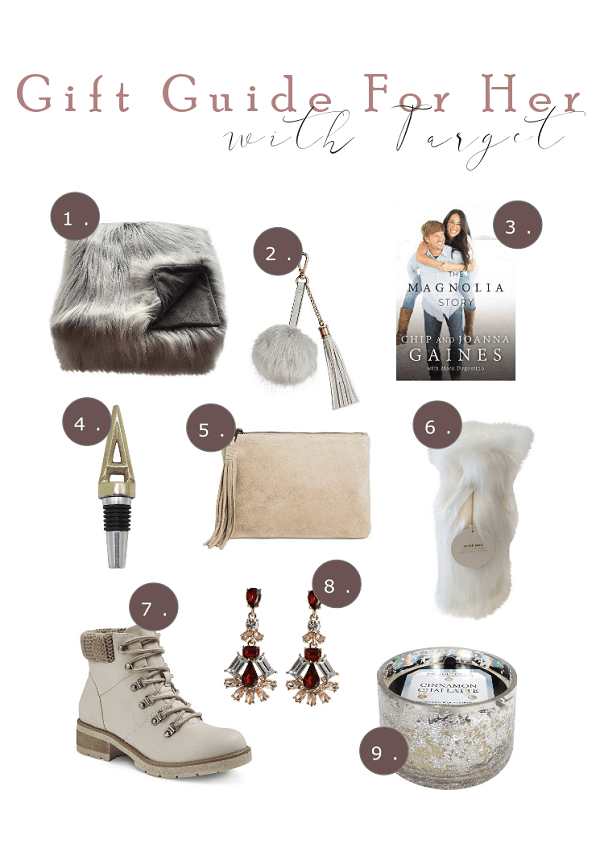 gift guide with target