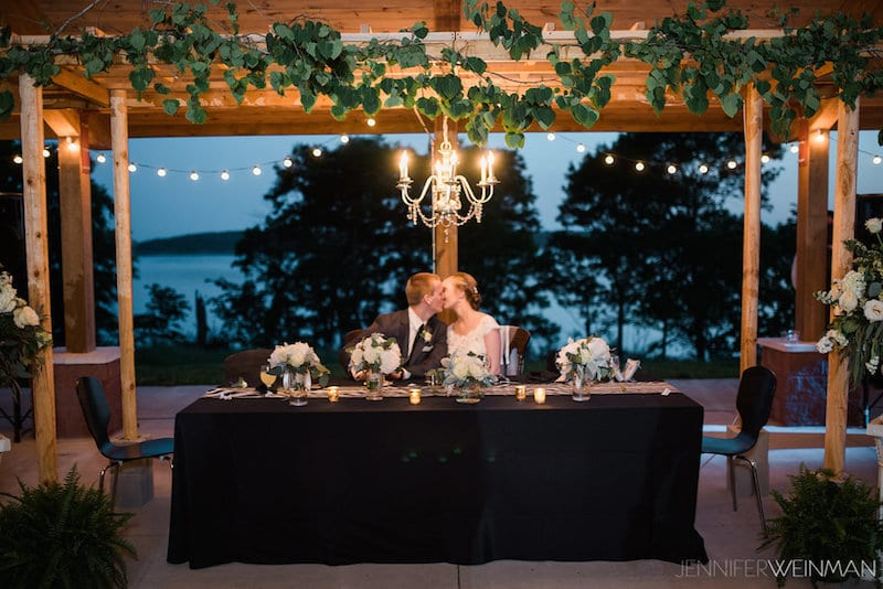 recycled wedding decorations idea