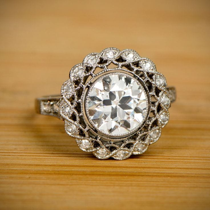vintage engagement ring inspiration