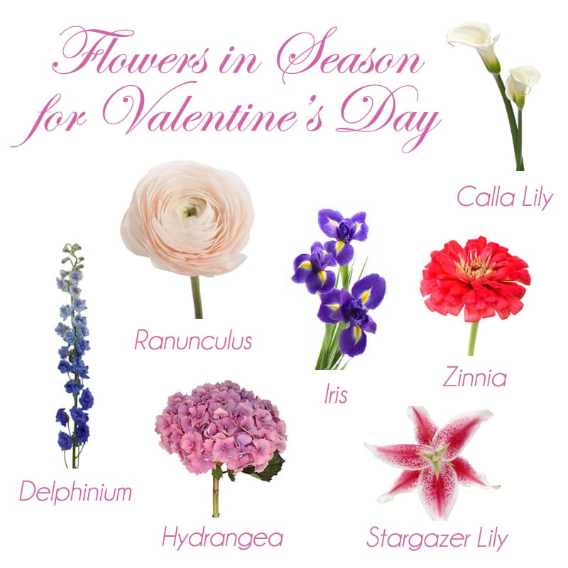 valentines day flower ideas