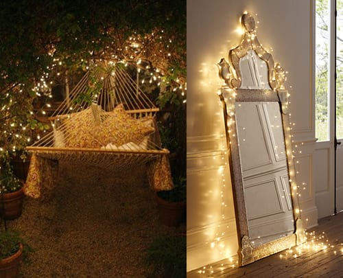 fairy light wedding inspiration