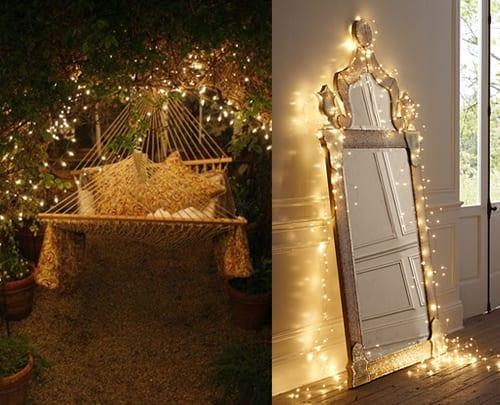 fairy light wedding inspiration
