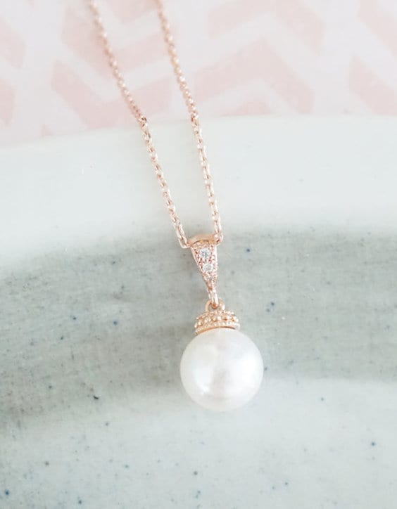 bride necklace ideas