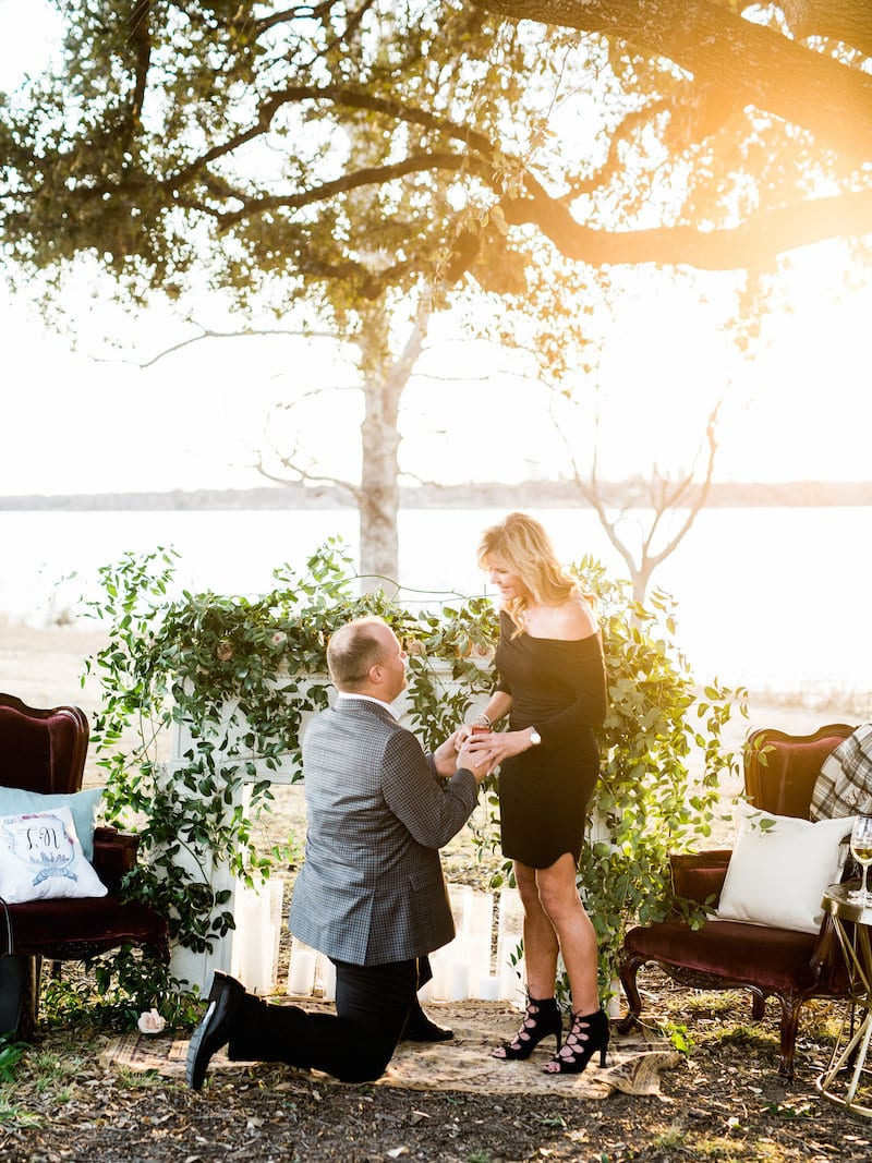 lakeside proposal in Dallas, TX