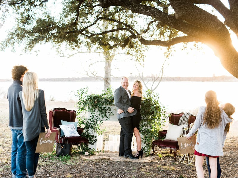 Family Involved In Proposal