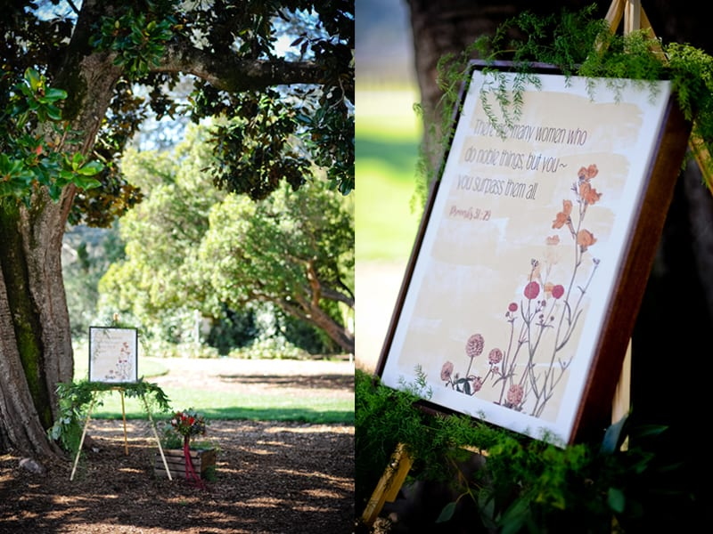wedding proposal in wine country