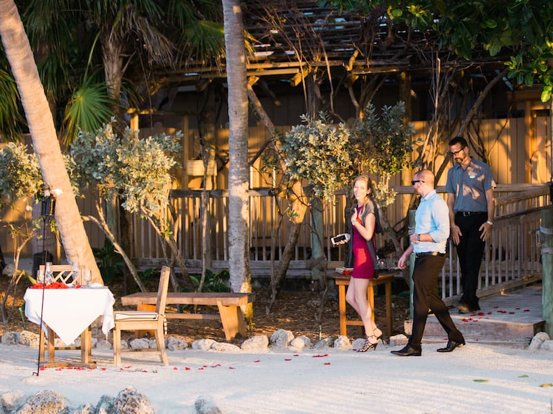 little palm island marriage proposal