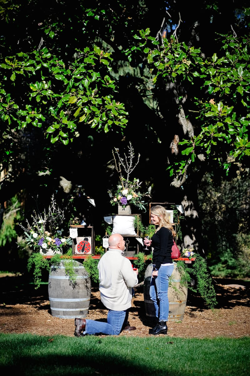 private proposal space in napa
