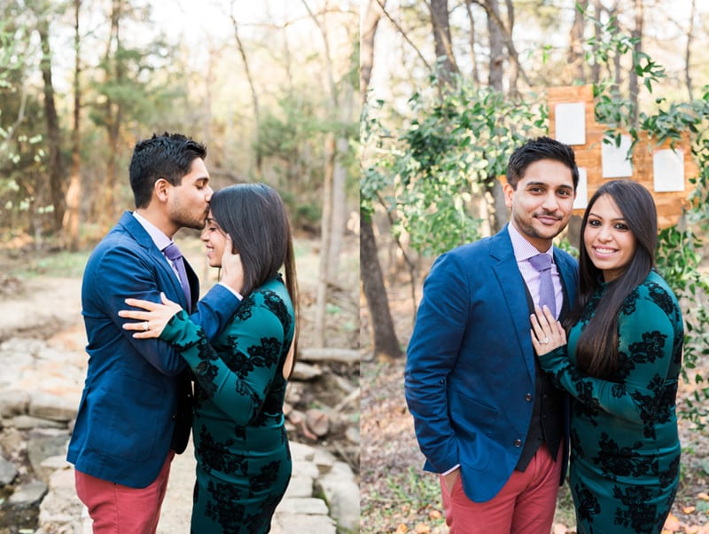 couple after engagement in southlake texas