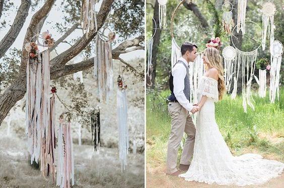 boho chic wedding inspiration