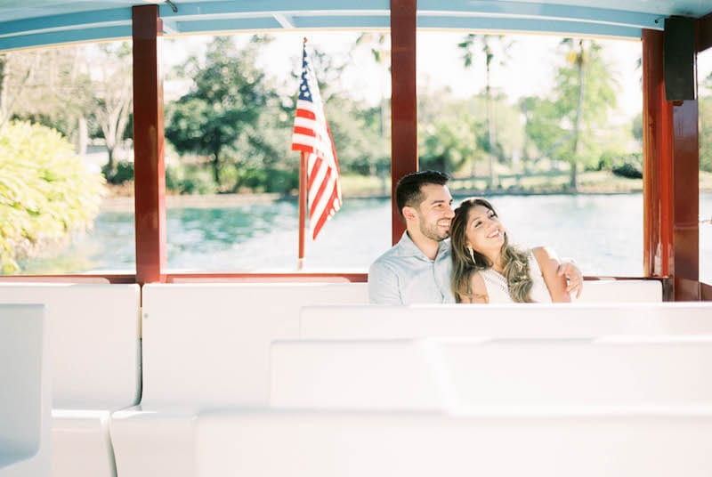 engagement shoot in orlando universal studios