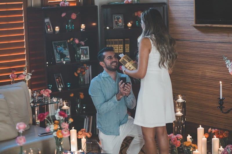 orlando marriage proposal in living room