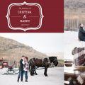 deer valley proposal with horse carriage