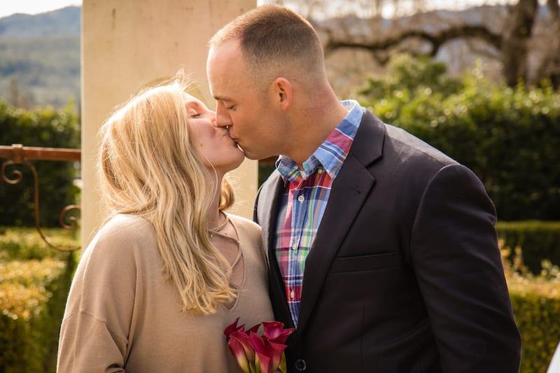 napa valley proposal kiss