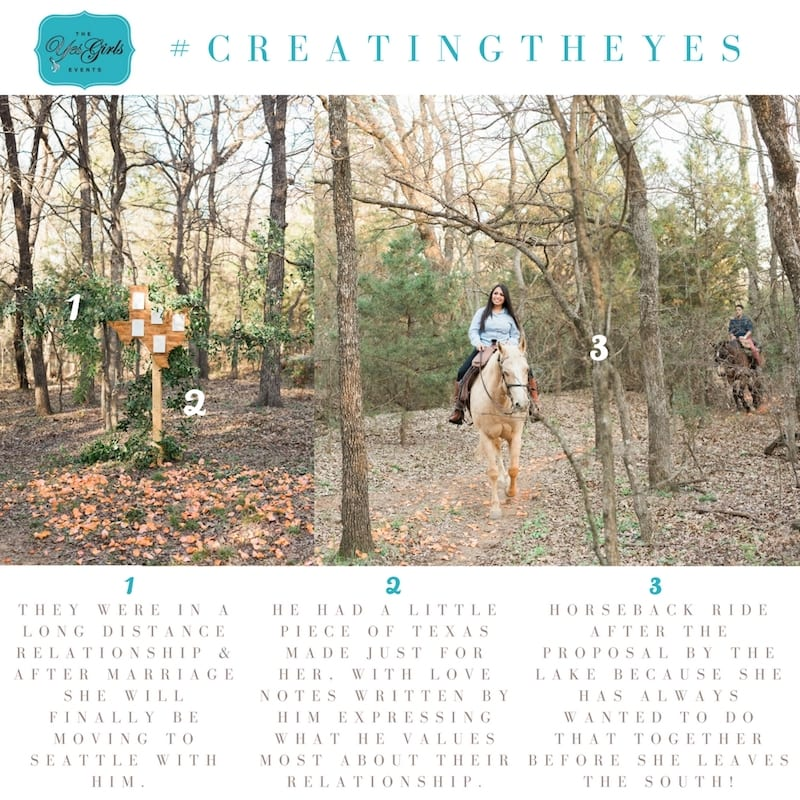 horseback ride marriage proposal dallas ft worth area