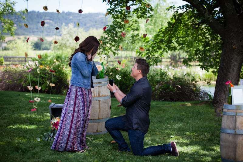 engagement in napa valley