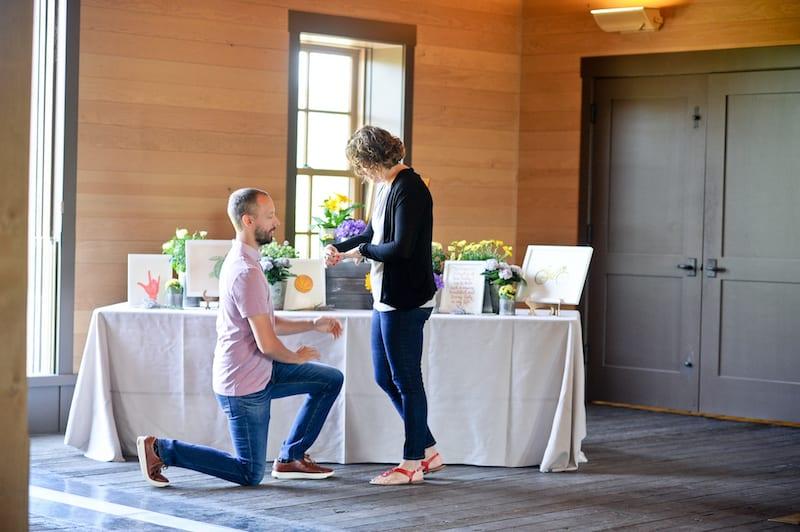 Napa Indoor Proposal Location
