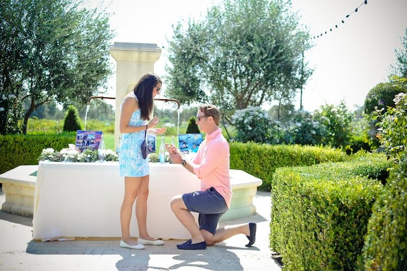 garden proposal in Napa Valley, California