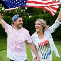 Independence Day inspirational engagement pictures