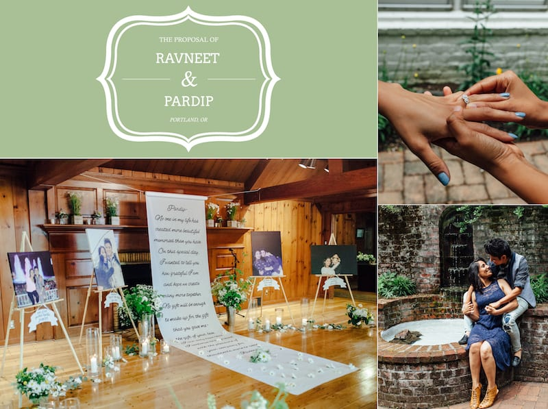 leach manor house marriage proposal