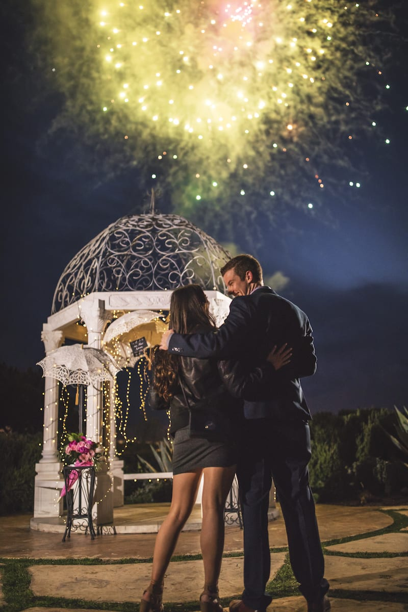 where to propose with fireworks for 4th of July