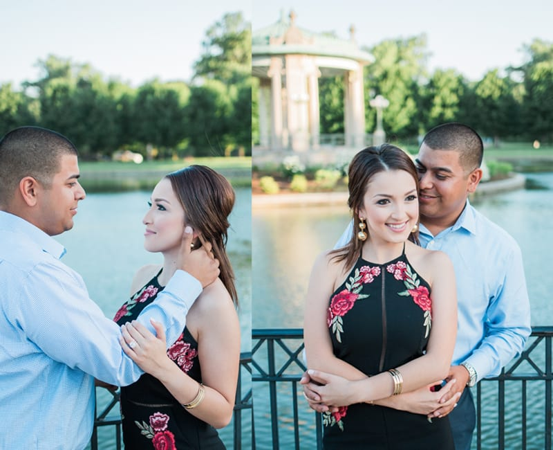 the muny gazebo in forest park marriage proposal
