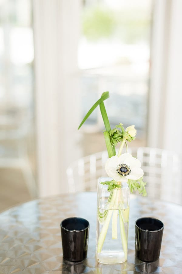 simple and modern rooftop wedding