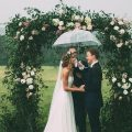 what do to when it's forecast to rain on your wedding day