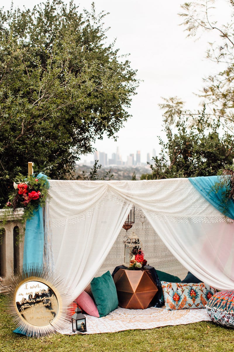 los angeles mansion marriage proposal