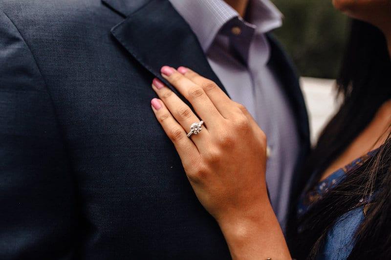 hindu couple after proposal