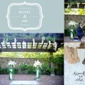 private proposal in Napa garden with trellis