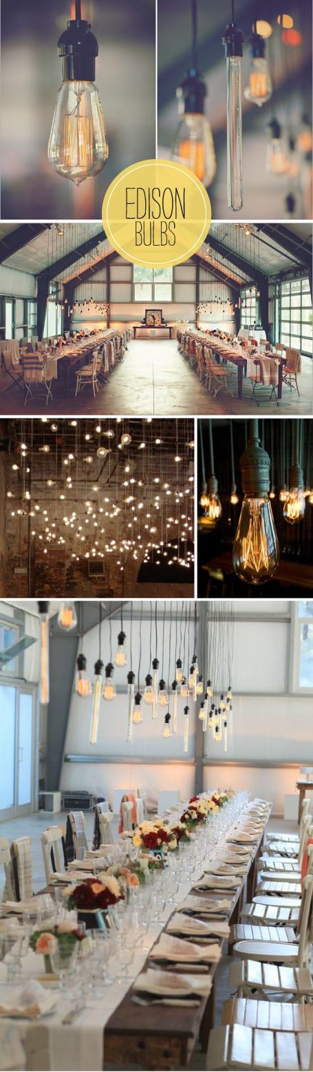 inspiration for your wedding lighting