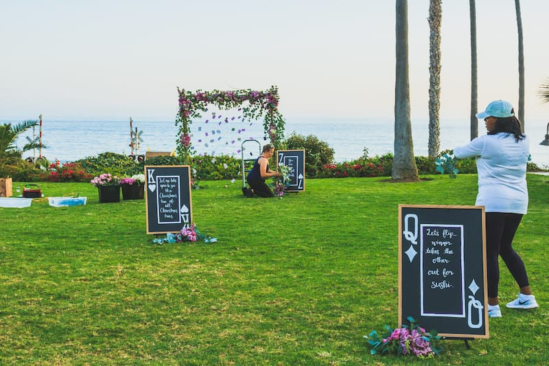 san clemente marriage proposal planners