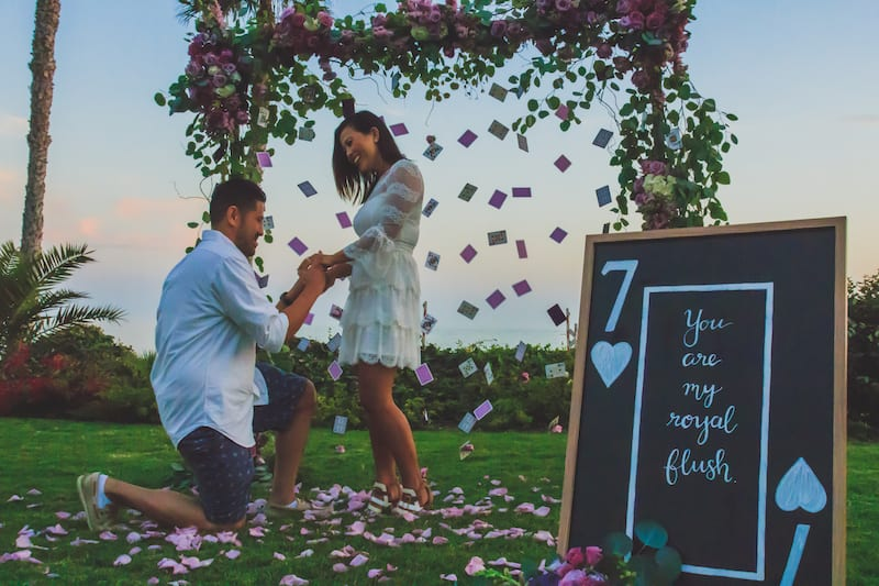 proposal in san clemente